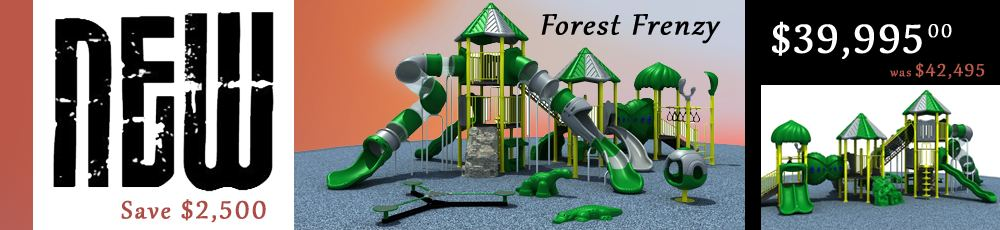 Forest Frenzy Play Structure for Sale