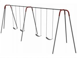 10ft Commercial Swingset tripod w/ seats