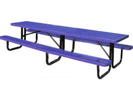 Portable Metal Picnic Table - 12ft