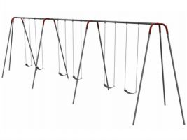 12' Modern Tripod Swingset, three bay