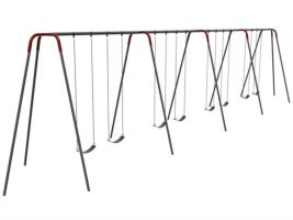 12' Tripod Swingset, 4 bay