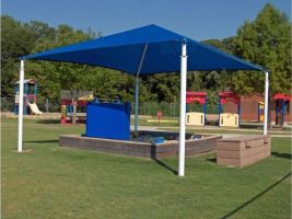 20x20 playground shade canopy