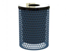 Economy 32 Gal. Trash Can - Expanded Metal