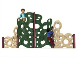 4-Section Bubble Climbing Wall Playground Equipment