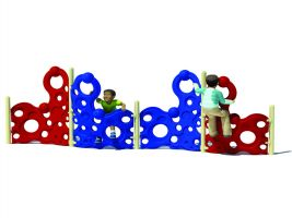 Preschool climber 4-Section Bubble Climbing Wall