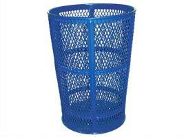 45 Gallon Expanded Metal Garbage Can