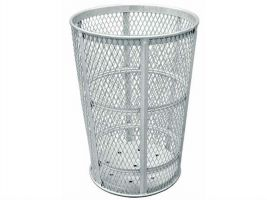 45 Gallon Galvanized Metal Trash Can