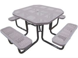 Portable Octagonal Picnic Table