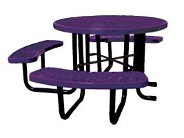 ADA Compliant Expanded Metal Picnic Table