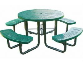 Portable Perforated Picnic Table