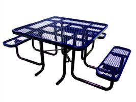 Portable Handicap Expanded Picnic Table