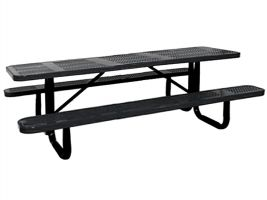 6ft Commercial Perforated Picnic Table