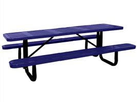 8ft Commercial Perforated Picnic Table