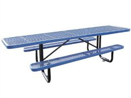 Expanded Metal ADA Picnic Table - 8'