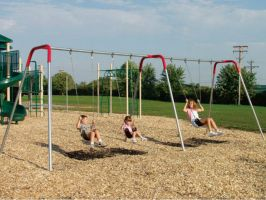 Bipod Swing sets for public parks