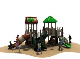 Genie of the Lamp Kids Play Structure
