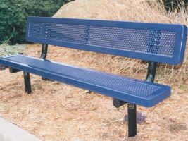 Outdoor Park Bench - 6 ft