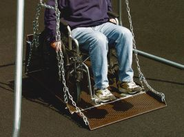 Wheelchair Swing Platform ONLY (frame sole separately)