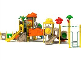 Jungle Animal Commercial Playset