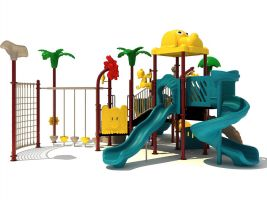Heavy Duty Animal Theme Playground Equipment