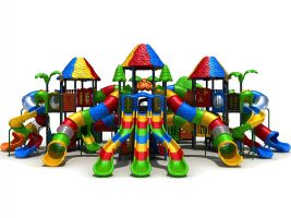 Candyland Play Structure