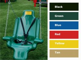 Commercial Accessible Swing Seats for Handicapped Children