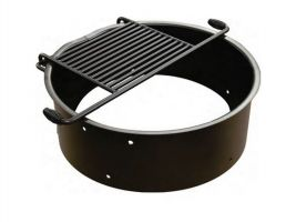 Campground Fire Ring or Flip Grate Grill