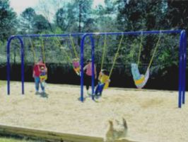 Arch Swing Set - 2 Bay