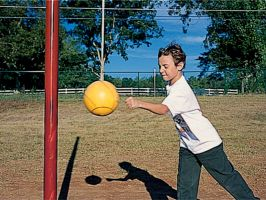 Commercial Tether Ball System