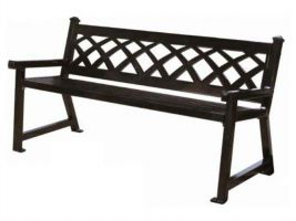 Decorative Commercial Park Bench