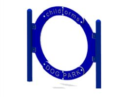 Jumping Hoop for dog parks