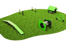 6 Pc. Bark Park Dog Play Package 4
