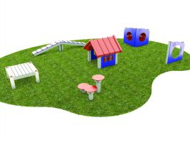 6 Pc. Bark Park Dog Play Package 6