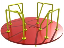 Playground Spinner Merry-Go-Round