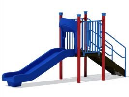 Standard 3 ft Commercial Playground Slide
