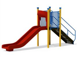 Standard Commercial Playground Slide - 4 ft
