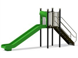 Standard 5 ft Commercial Playground Slide