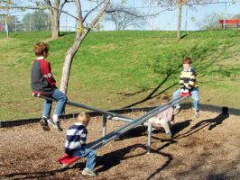 Heavy Duty Commercial Teeter Totter