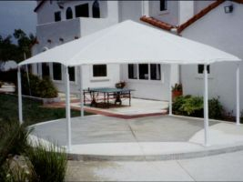 Hexagonal Shade Structure