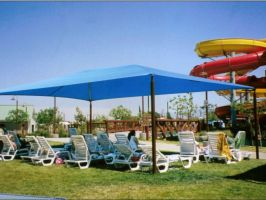 Hip Roof Shade Structure
