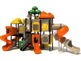 Heavy Duty Jungle Animal Theme Playground Equipment