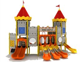 Castle Theme Playland for Kids