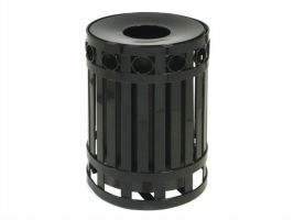 Outdoor Waste Management Containers