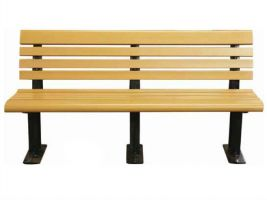 Sleek Style Bench in Recycled Plastic