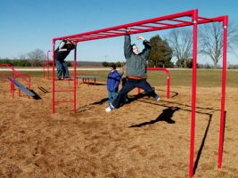 School Monkey Bars Set