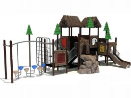 Natural Playground Equipment for Churches