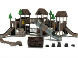 Pride Rock Natural Playground Equipment