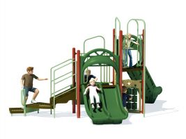 Playground games, slides and climbers for schools!