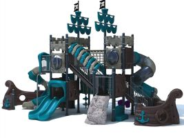 Pirate Ship Themed Boat Playset
