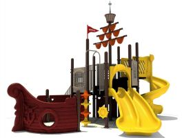 Pirate Ship Church Playground Structure
